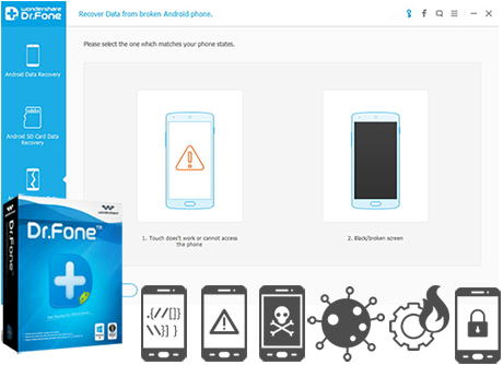 Recover Contacts from Android Phone with Broken Screen