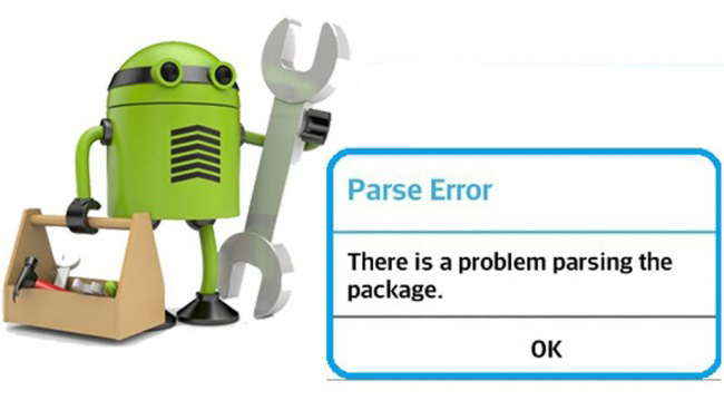 fix Android Parse error