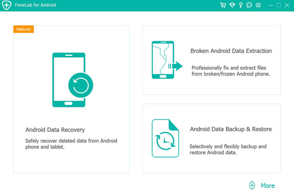 launch Android data extraction