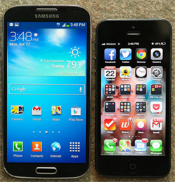 How do I transfer my Contacts from iPhone to Samsung Galaxy S4?