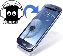Sync Galaxy S3 with iTunes