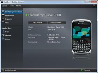 How to Retrieve Contacts from BlackBerry Backup File