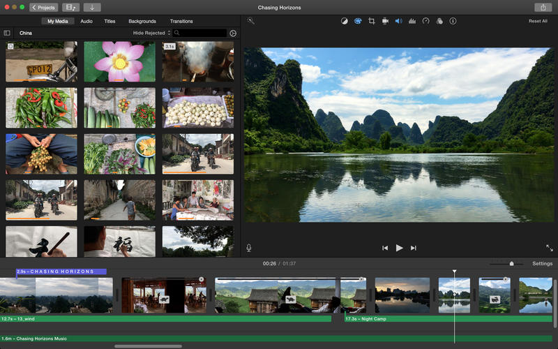 recover imovie project