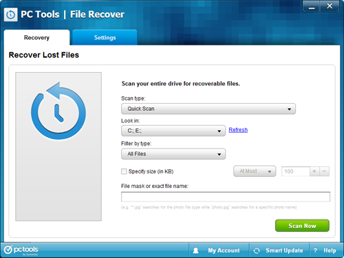 Pc Tools File Recover Recover Lost Document Photos