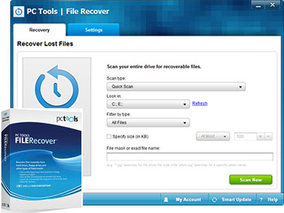 PC Tools File Recovery