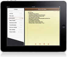 Retrieve Deleted iPad Notes