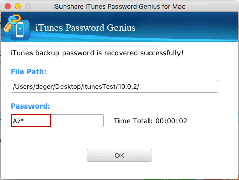 unencrypt iPhone backup