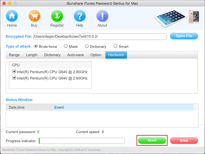 itunes backup password cracker