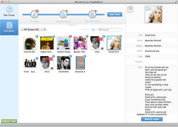 customize album art in iTunes