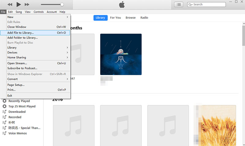 How to download YouTube Music to iTunes Library?