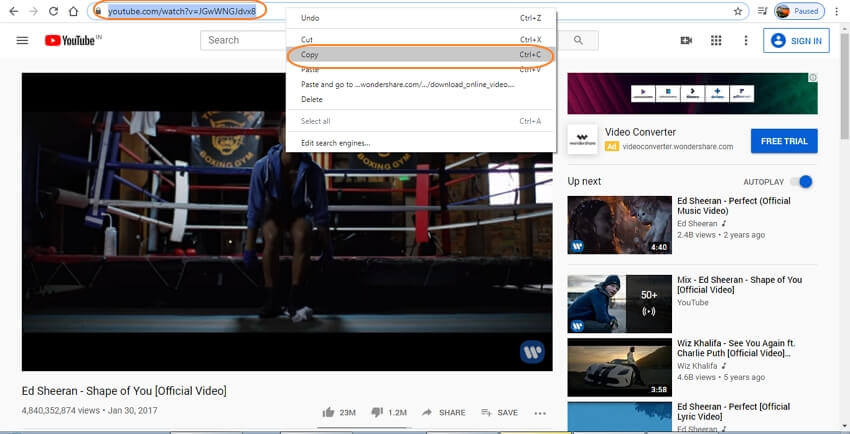 How to download youtube music to itunes library copy youtube video url ccuart Images