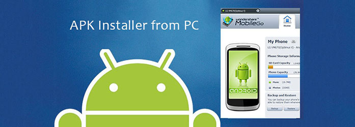 Installing APK from PC