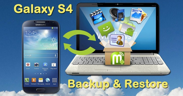Samsung Galaxy S4 Backup and Restore