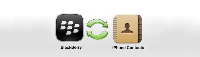 Sync BlackBerry Contacts with iPhone