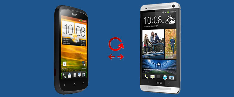 Transfer Contacts from HTC Desire to HTC One X