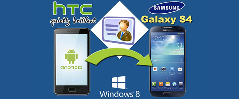 Transfer Contacts from HTC to Samsung S4