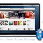 Recover iPhone Data from iTunes Backup