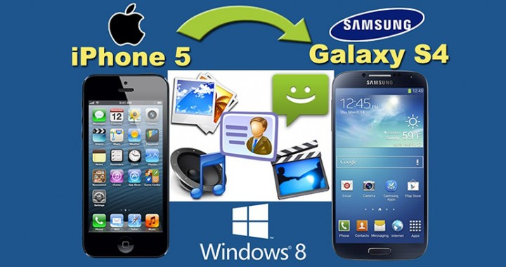 Transfer iPhone Contacts to Samsung Galaxy S4