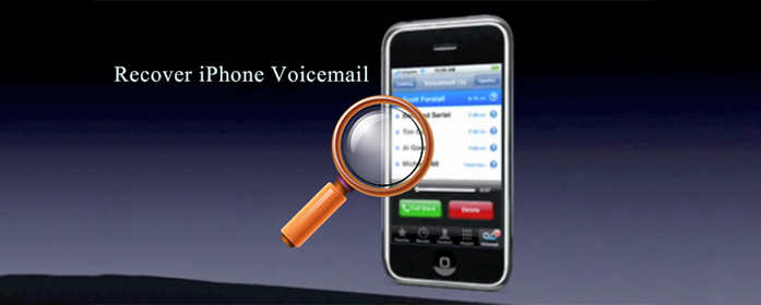 Recover deleted Voicemail iPhone
