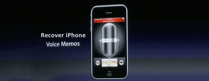 Recover deleted Voice Memos iPhone