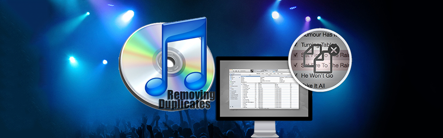 remove duplicate songs iTunes