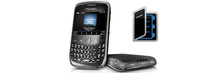 Retrieve BlackBerry Contacts from Backup