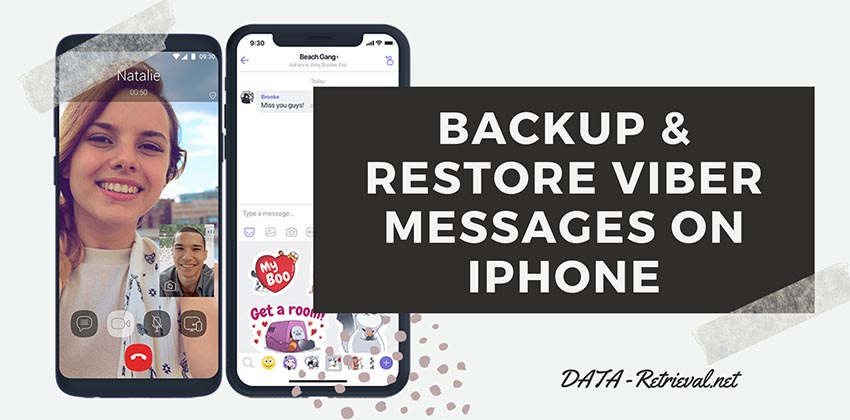 backup restore Viber messages iPhone