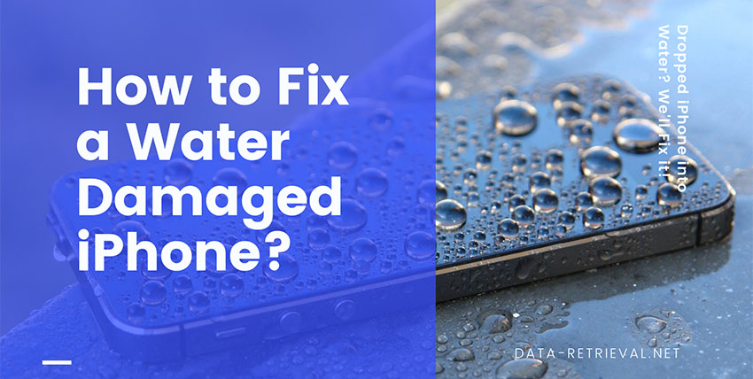 Fix a Water Damaged iPhone