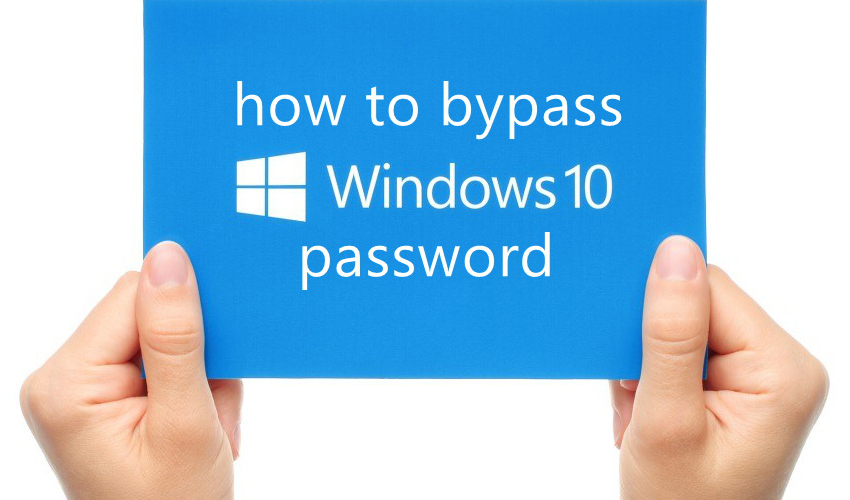 Windows 10 password reset banner